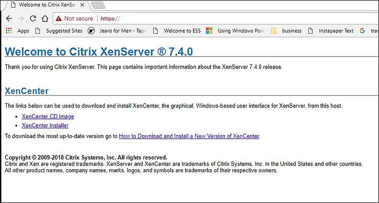 A Complete Guide to install Citrix XenServer & XenCenter – iRao