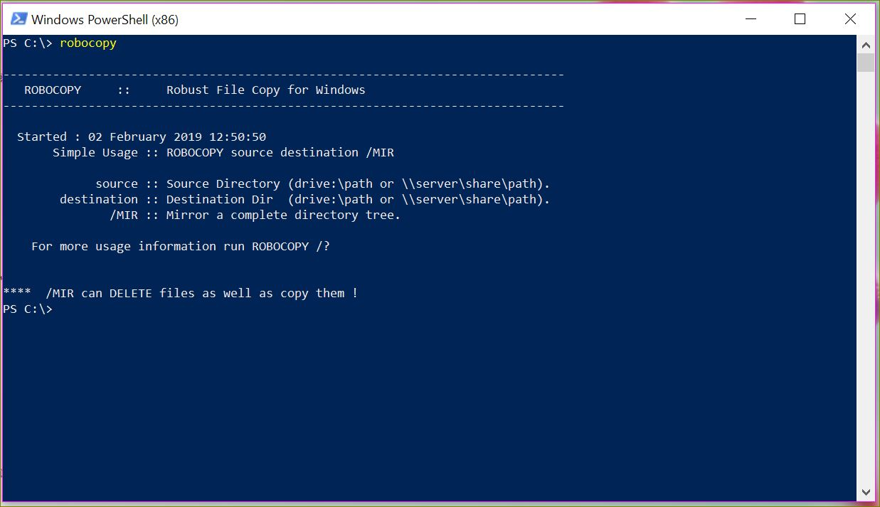 Copy Files and Folders using PowerShell – iRao Techstories